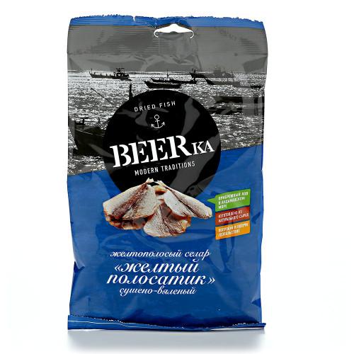 Рыбка сушеная Желтый полосатик BEERKA, 25 гр