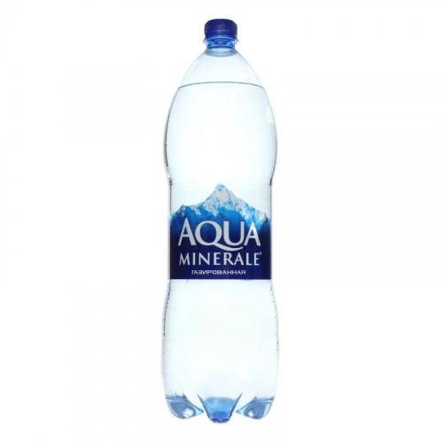 Вода газированная питьевая Aqua Minerale 2л
