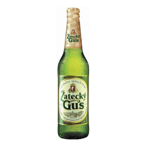 Пиво Zatecky Gus 4,8% 0.48 л стекло