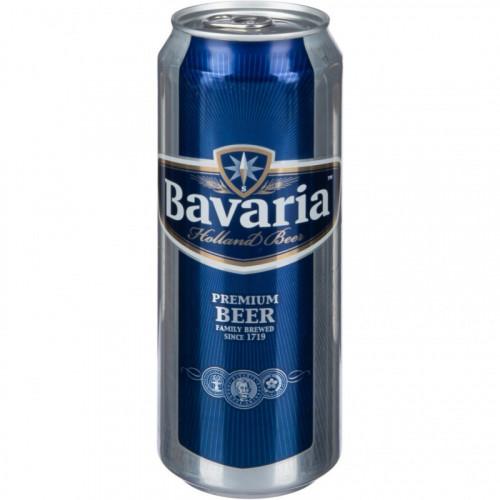 Пиво Бавария Премиум Пилзнер 0,5л ж/б