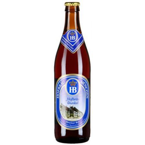 Пиво Хофброй Дункель 0,5 л стекло