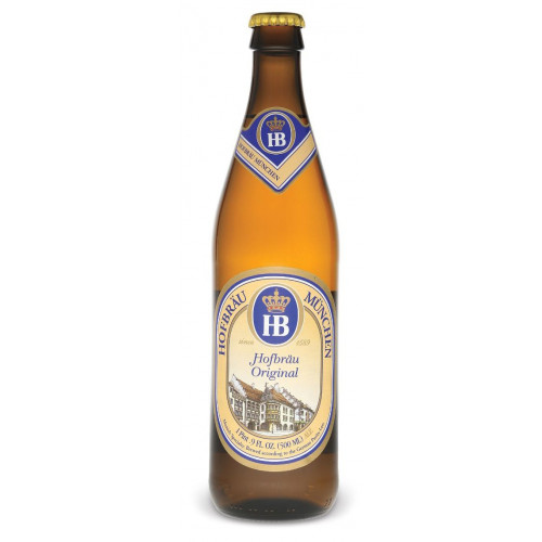 Пиво Хофброй  Оригинал 0,5 л стекло