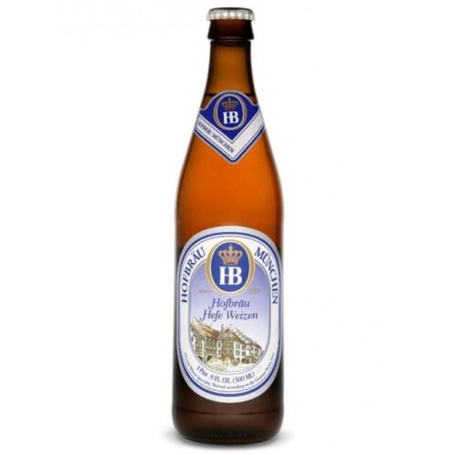 Пиво Хофброй Мюнхен Хеффе 0,5 л стекло