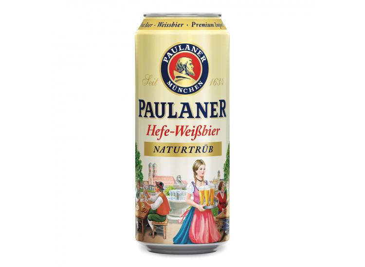 Пиво Паулайнер Хефе 0,5 л ж/б