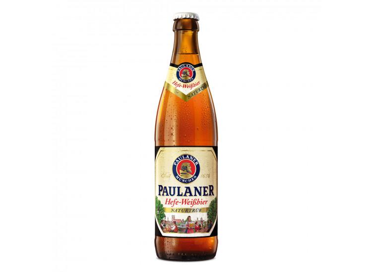 Пиво Паулайнер Хефе 0,5 л стекло