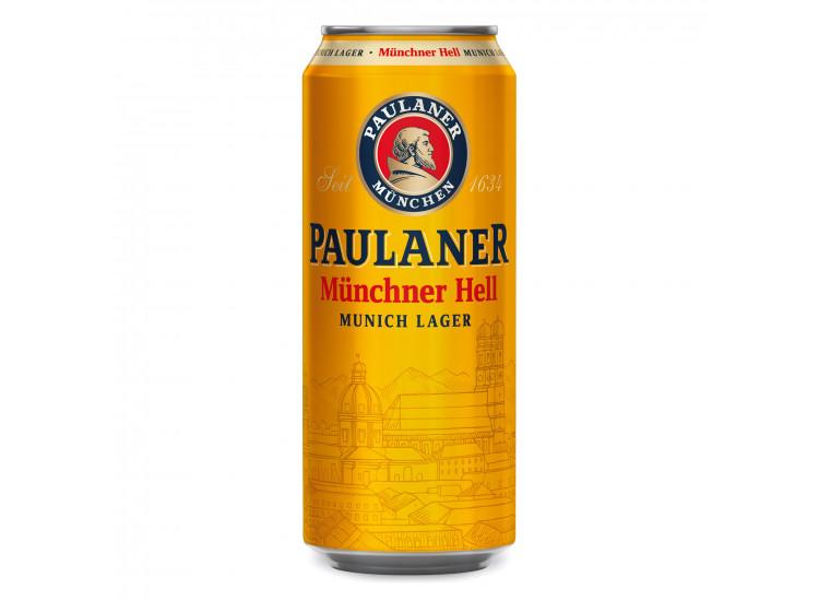 Пиво Паулайнер Оригинальное 0,5 л ж/б