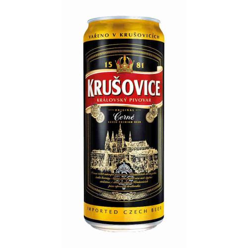 Пиво Крушовице Черное 0,5 л ж/б