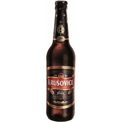 Пиво Крушовице Черное 0,5 л стекло