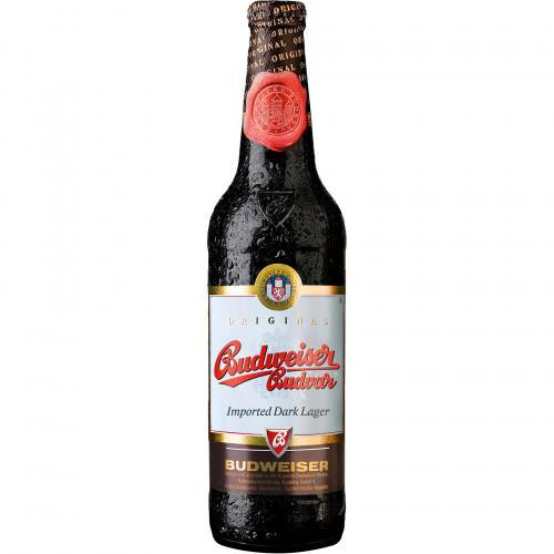 Пиво Budweiser Дарк 0,5л стекло