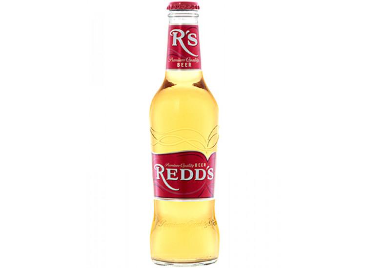 Пивной напиток Реддс 0,33л стекло