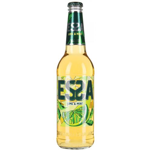 Пивной напиток ЭССА Лайм Мята, 045л стекло