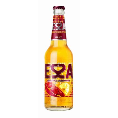 Пивной напиток ЭССА Ананас и грейпфрут, 045л стекло