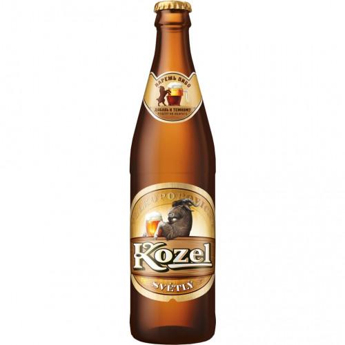Пиво Велкопоповицкий КОЗЕЛ Резаный 0,45 стекло