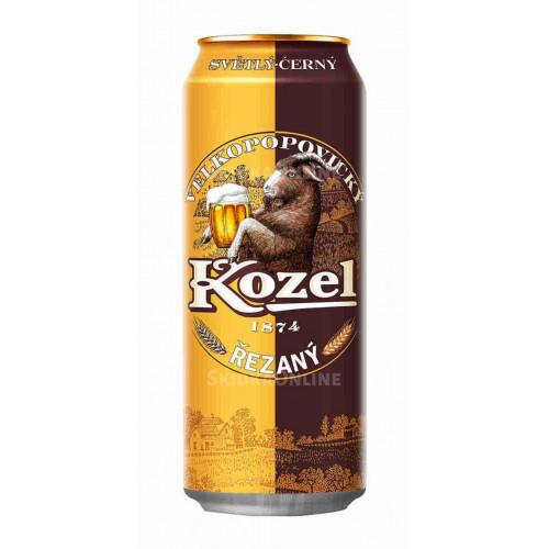 Пиво Велкопоповицкий КОЗЕЛ Резаный 0,45 ж/б