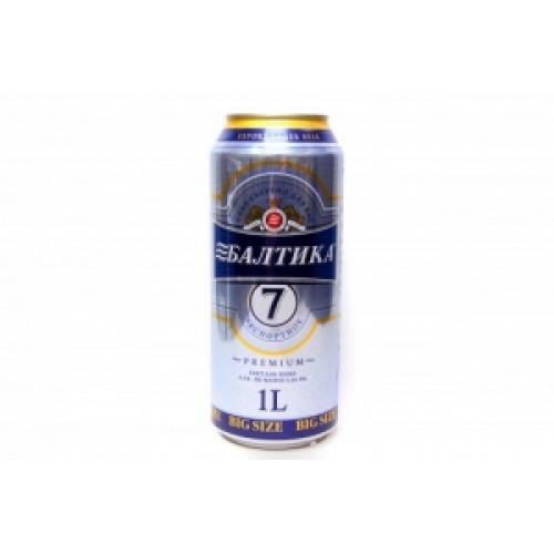 Пиво БАЛТИКА №7 св. 0,9 л. ж/б