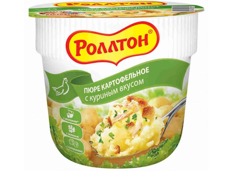 Пюре картофельное РОЛЛТОН в стаканчике 40 гр