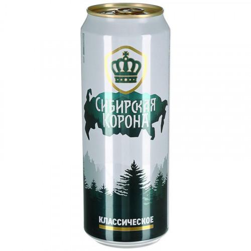 Пиво Сибирская Корона Классич светлое 0.45 л