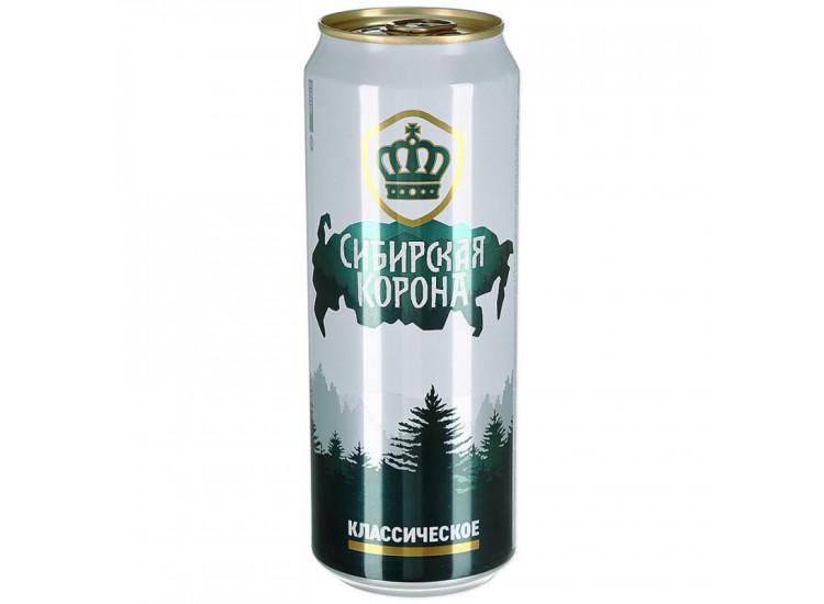Пиво Сибирская Корона Классич светлое