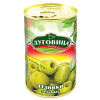 Оливки зеленые б/косточки ЛУГОВИЦА 290 гр ж/б