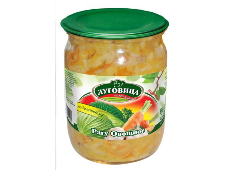 Овощное рагу ЛУГОВИЦА 500 гр стекло