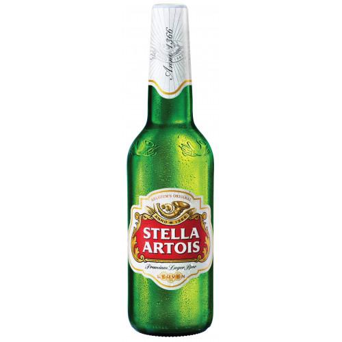 Пиво Stella Artois светлое 4.8% 0,5 л