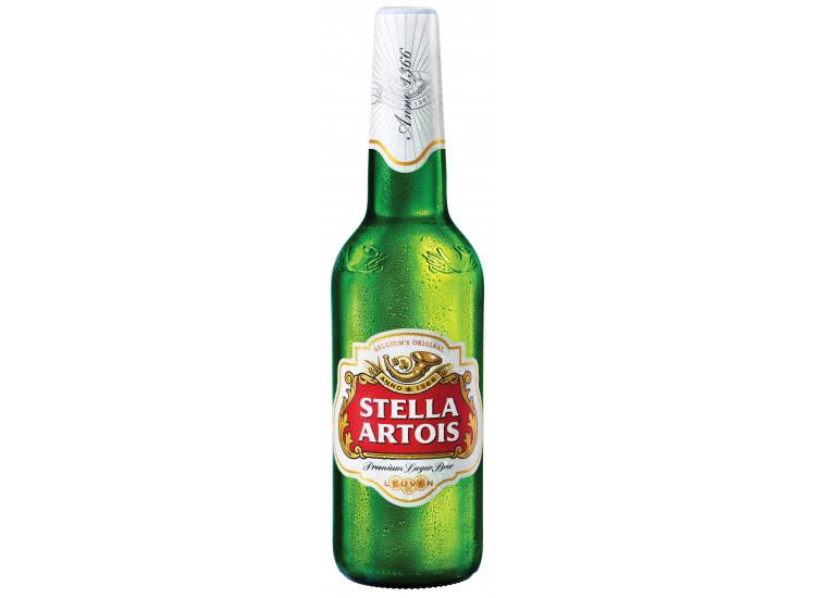 Пиво Stella Artois светлое 4.8% 500 мл