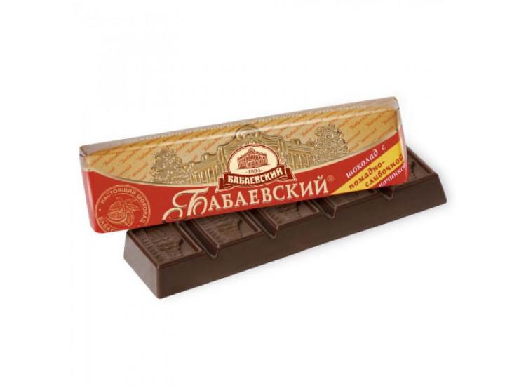 Шоколад Бабаевский с шоколадной начинкой