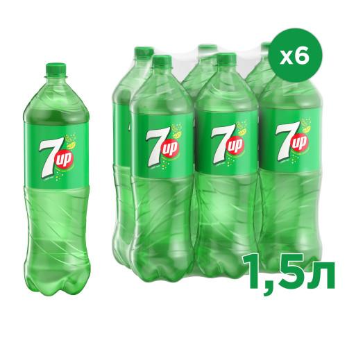 Газированный напиток 7 UP 1,5 л