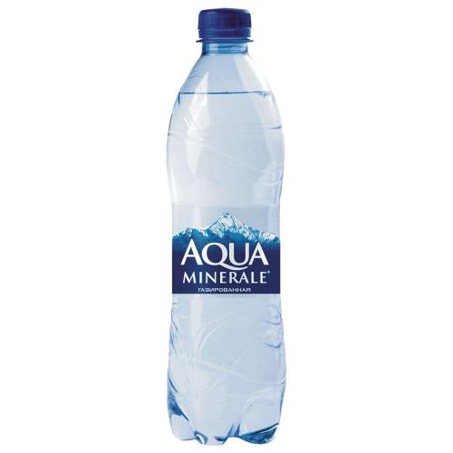 Вода Aqua Minerale газированная питьевая