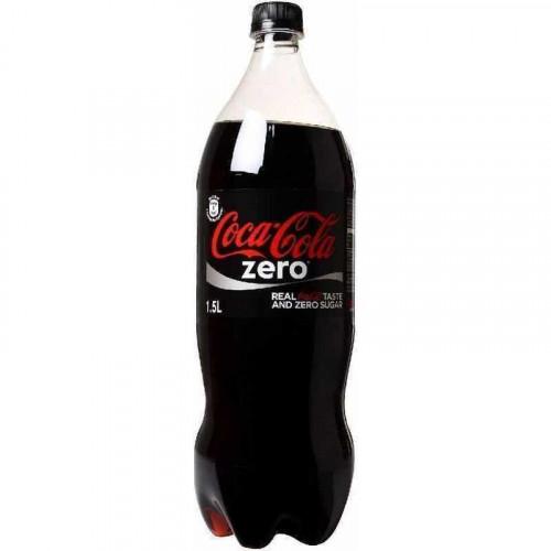 Газированный напиток Coca-Cola Zero 1,5 л
