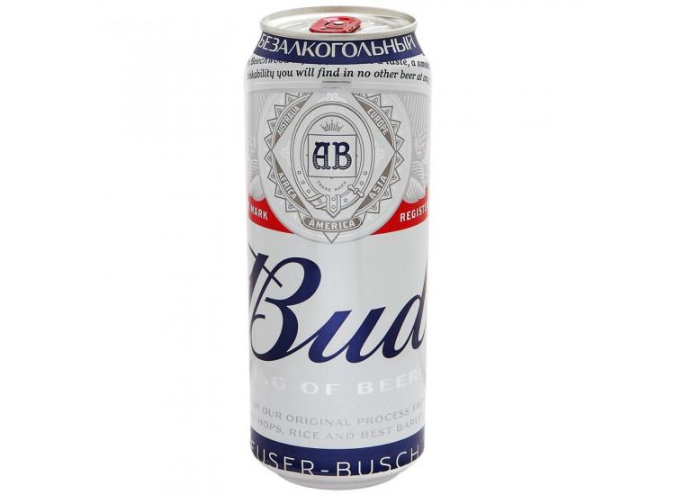Напиток пивной Bud безалкогольный пастеризованный
