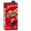 Нектар Любимый яблоко клубника черноплодная рябина 0.95 л