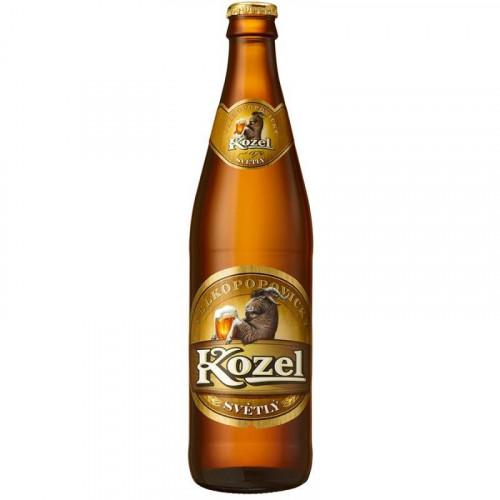 Пиво Velkopopovicky Kozel светлое 4% 0.45 л