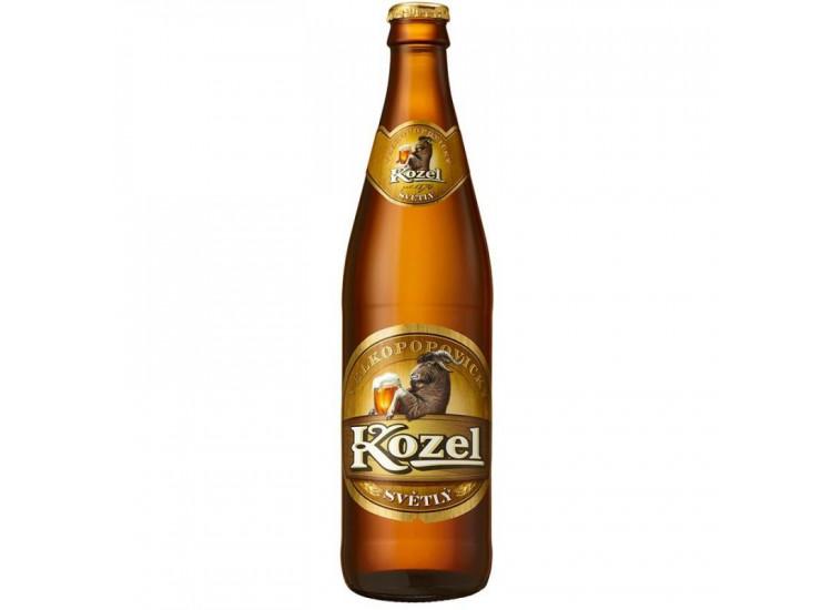 Пиво Velkopopovicky Kozel светлое 4%