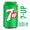 Газированный напиток 7 UP 0,33 л
