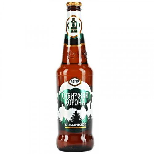 Пиво Сибирская Корона Классическое 0.47 л