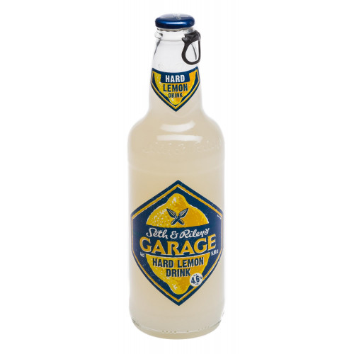 Пивной напиток Seth and Riley's Garage Гараж Хард Лимон 4,6%, 0,45 л