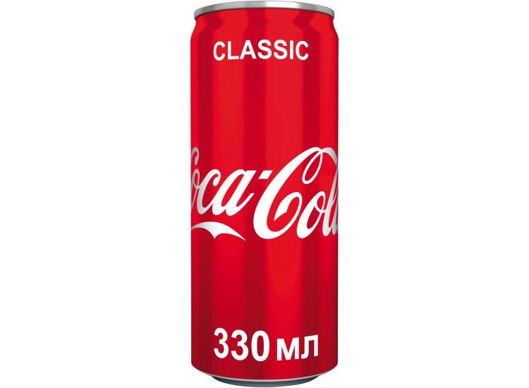 Газированный напиток Coca-Cola 0,33 л