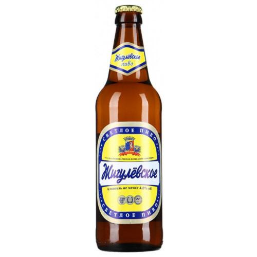 Пиво Жигулевское светлое пастеризованное 0,47 л