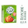Нектар Фруктовый Сад Персик+яблоко, т/п 0,2 л. (27 шт. в упаковке)