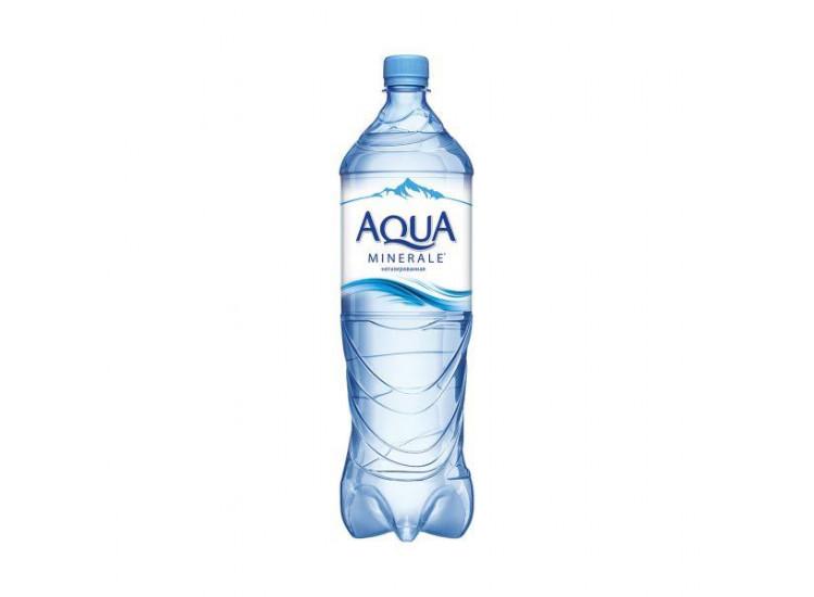 Вода негазированная питьевая Aqua Minerale 1 л