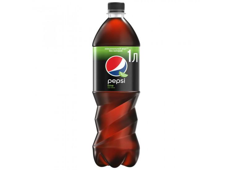 Газированный напиток Pepsi Lime 1 л, ПЭТ