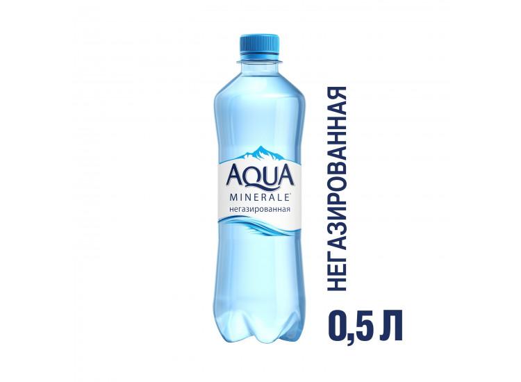 Вода негазированная Aqua Minerale 0,5 л