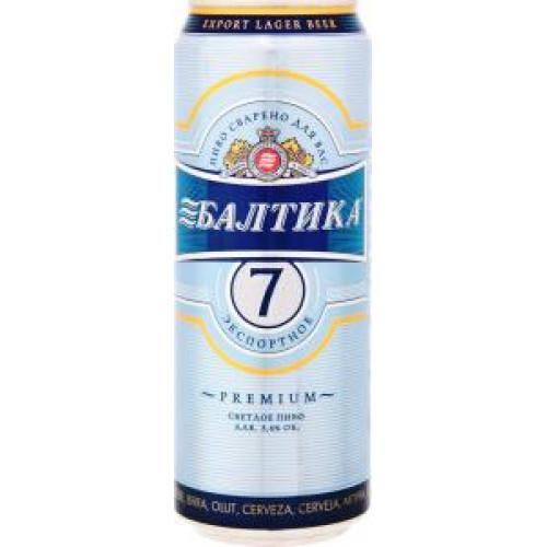 Пиво Балтика №7 Экспортное 5,4% Ж/Б 0,45 л.