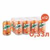 Газированный напиток Mirinda Апельсин 0,33 л