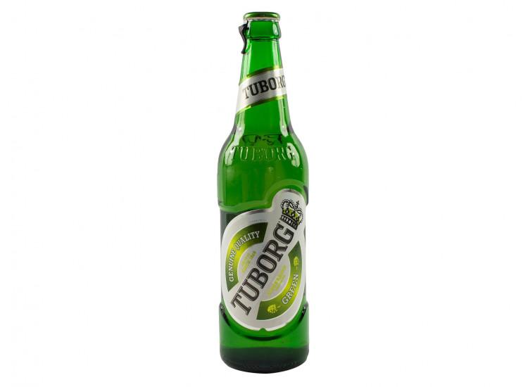Пиво Tuborg Green Светлое пастеризованное 4,6%