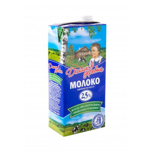 Молоко Домик в деревне ультрапастеризованное 2,5% 950 мл