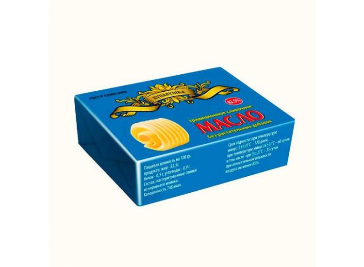 Масло сливочное Купавушка Традиционное 82,5%