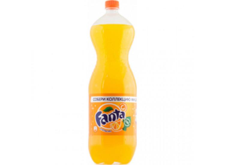 Газированный напиток Fanta Апельсин РФ 2 л