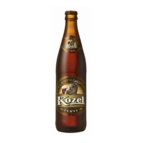 Пивной напиток Velkopopovicky Kozel Cerny 3,7% 0.45 л